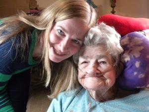 Me and Grandma, Christmas Eve, 2013