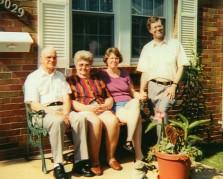 Grandpa, Grandma, Aunt Robin, Dad